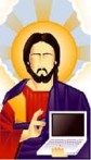 jesus-and-computer