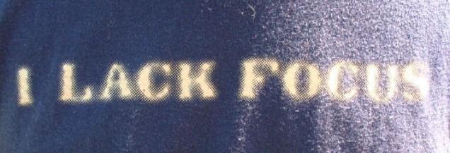lack-focus