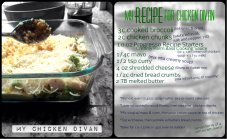 Chicken Divan Recipe Collage